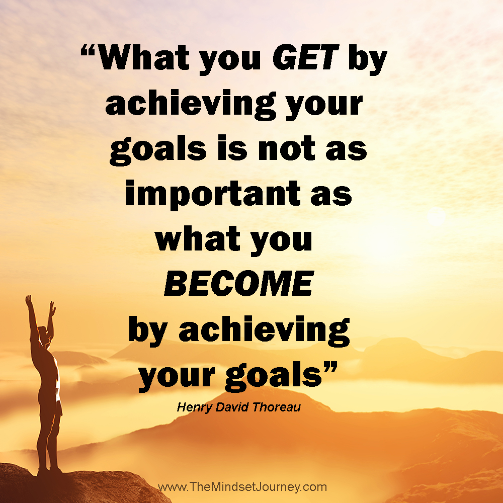 the importance of internal motivation in achieving our goals in life The importance of setting goals the first thing a successful person needs to have is a goal (and the more, the merrier) we all seek success, and we know that nothing ever comes easy.